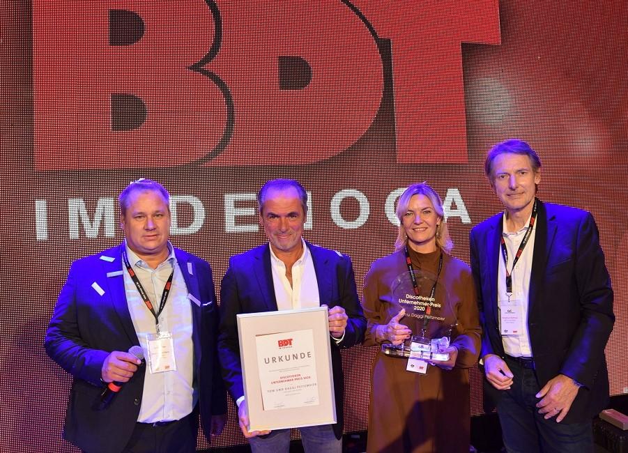 BDT Discotheken Unternehmerpreis