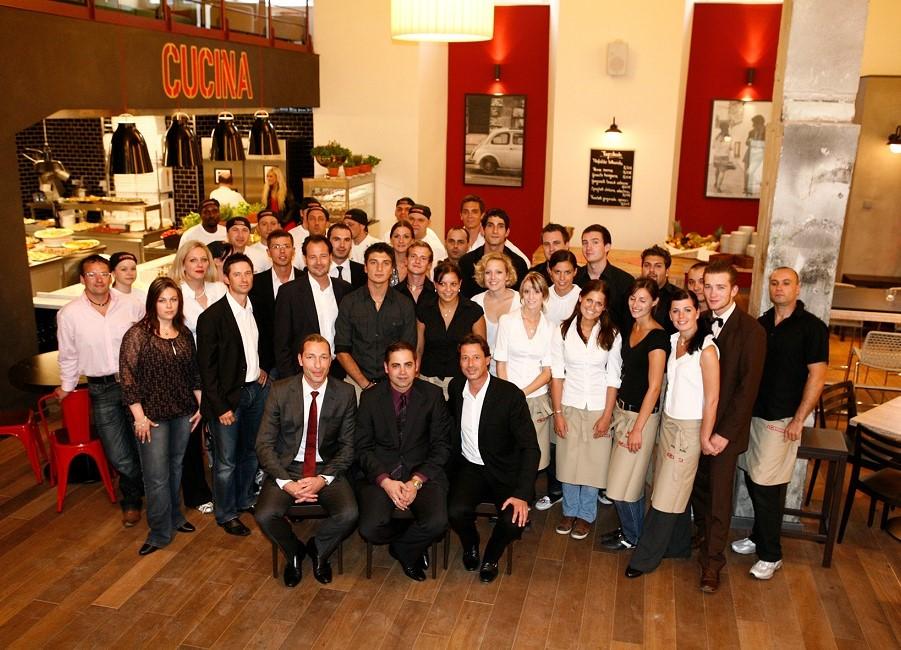 L'Osteria Eröffnung Neumarkt Team 2009