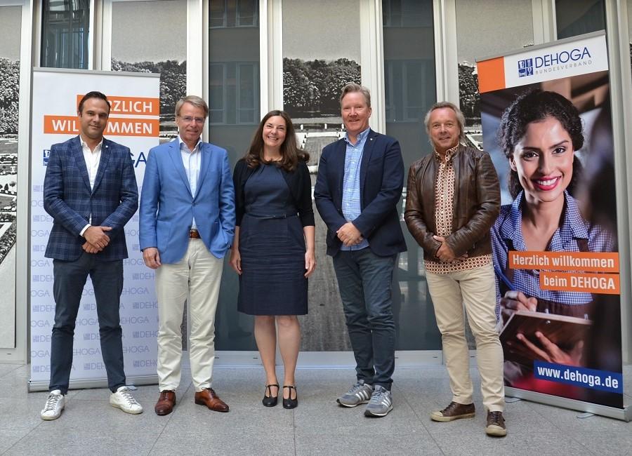 Stephan von Bülow Roland Koch Sandra Warden Jan Kamp und Frank Buchheister