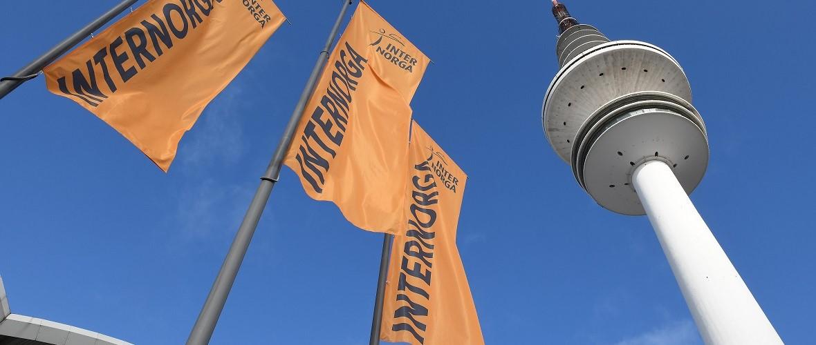 Internorga Messe Hamburg Flaggen