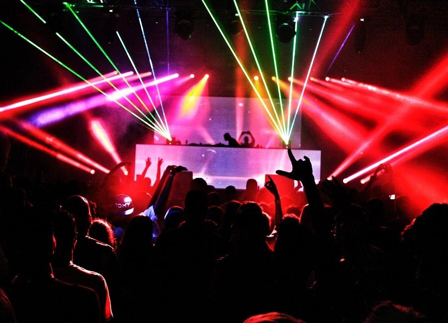 Disco Club tanzen Licht